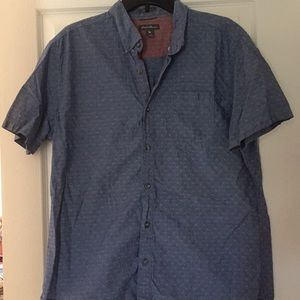 Eddie Bauer Blue Button Up Shirt